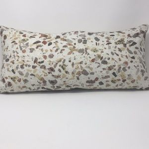 Beautiful Neutral Pillow Long Removable Cover